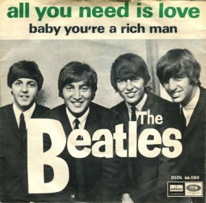 beatles all you need is love,