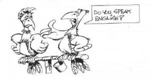 говорить на английском,